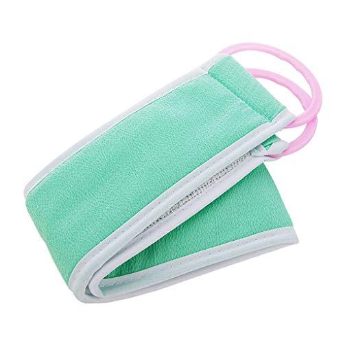 Guangcailun Cinturón de baño del baño del depurador del Cepillo Rub baño Cepillo para la Espalda Masajeador Corp Exfoliante Toallita Cepillo para la Espalda cinturón de Color al Azar 🔥