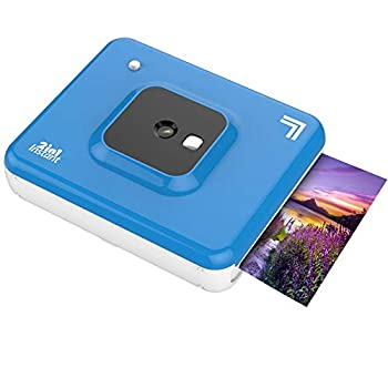"Sharper Image 2 in 1 Wireless Instant Film Camera and Photo Printer  3"" x 3"" Blue"