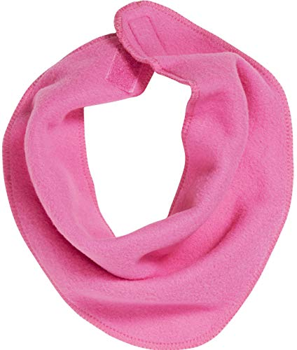 Playshoes Baby-Unisex Fleece-Dreieckstuch legeres Hals-Tuch, pink, one size