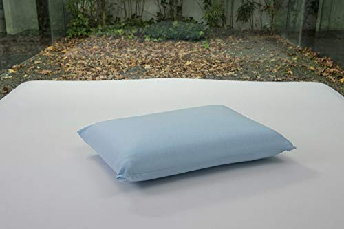 Bsensible - Funda de Almohada Protectora de Tencel, Impermeable y Transpirable Azul Celeste 75 x 40