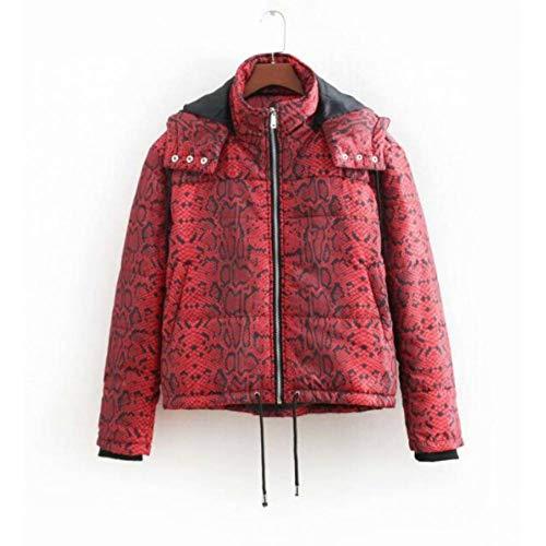 NSWTKL damesjack met opdruk, winterjas voor dames, warm, plus-maat, bomberjack voor dames, streetwear met capuchon, winterkleding voor dames