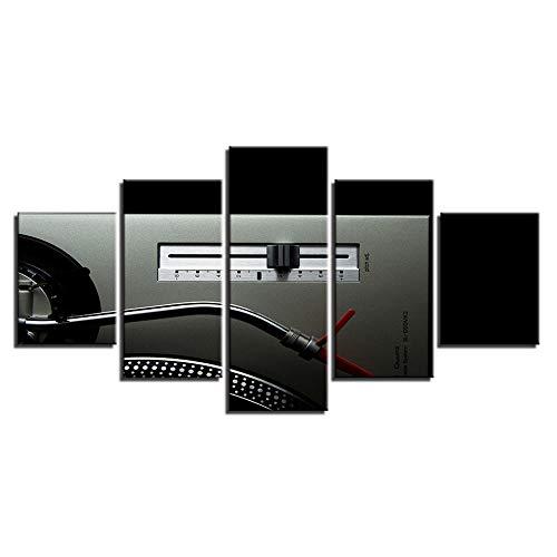 xjzjy Impresiones Pared 5 Piezas Inicio Lienzo Imágenes HD