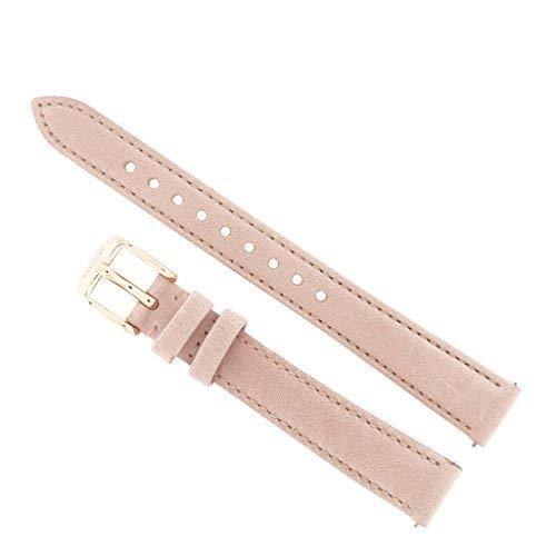 Fossil Uhrband Wechselarmband LB-ES3988 Ersatzband ES3988 Uhrenarmband Leder 14 mm Rosa