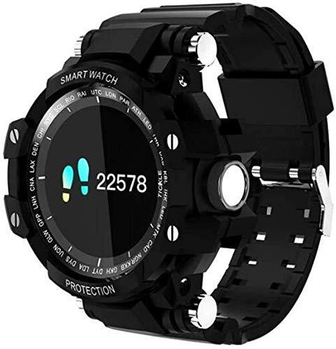Gymqian Fitness Tracker Smart Watch, Rastreador de la Pantalla de Color de la Actividad de la Actividad Impermeable Ip67 con Monitor de Ritmo Cardíaco, Rastreador de Fitness con Mon