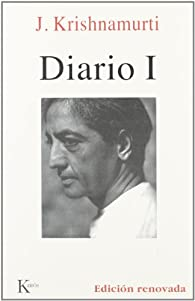 Diario I par Jiddu Krishnamurti