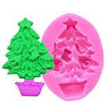 BAEDEE moldes Silicona reposteria Navidad Molde Silicona Navidad Reutilizable de Navidad Molde Navidad Molde Decoración de Navidad Molde 3D de Navidad Molde