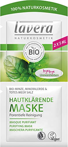 Lavera Bio Hautklärende Maske Bio-Minze (6 x 10 ml)