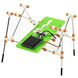 Angel3292 DIY Solar Power Kids Children Quadruped Walking Robot Assembly Educational Toy