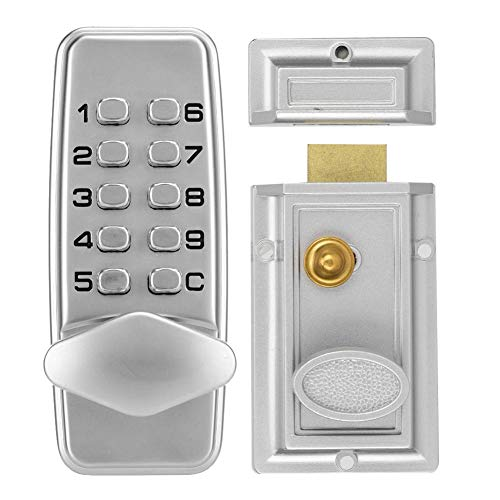 Digitales Passwort-Türschloss, 2-4-stelliges mechanisches Codeschloss-Kabinett für Innen- und Außentüren Sicherheitscodeschloss