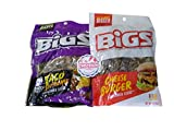 Big's Taco Bell & NEW Cheeseburger Sunflower Seeds - One of Each Flavor Sample Pack with Refrigerator Magnet