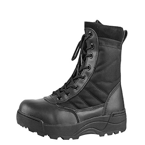 Uirend Botas Servicio Militar Calzado Trabajo Zapatos Hombre - Botines Desert Militares...