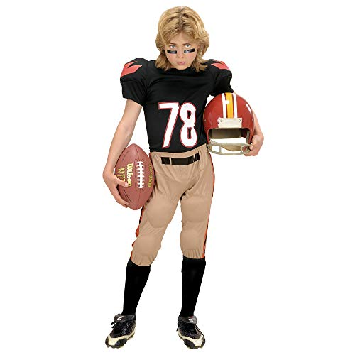 WIDMANN Desconocido Disfraz de jugador de fútbol americano para niño