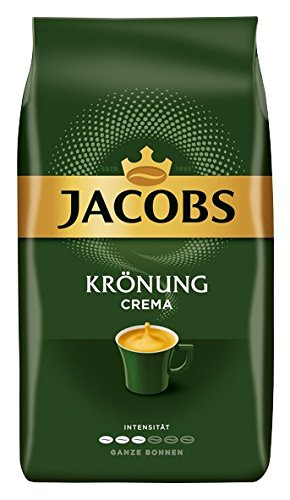 Jacobs Krönung Caffè Crema Grains de 4, (4x 1000g)