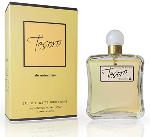 Tesoro Eau De Parfum Intense 100 ml. Compatible con Trésor, Perfume Equivalente Mujer
