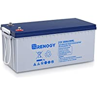 Renogy 12V 200AH Rechargeable Deep Cycle Hybrid Gel Battery