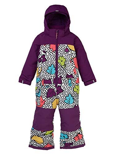 Burton Mädchen Toddler Illusion Snowboard Overall, Hoos There, 2T