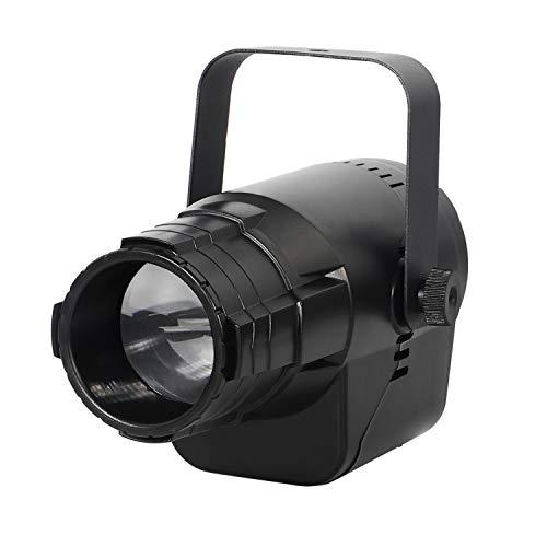 UKing 40W LED Pinspot Luce,Proiettori a Luci LED con 5 Fasci di Colore e 3 Proiezioni di Pattern per DJ Disco Club Festa Decoration
