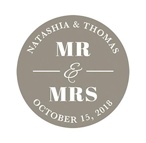 Mr And Mrs Stickers Personalized Wedding Save the Date Stickers Favor Stickers Invitation Stickers Wedding Envelope Seals Favor Stickers F8:35