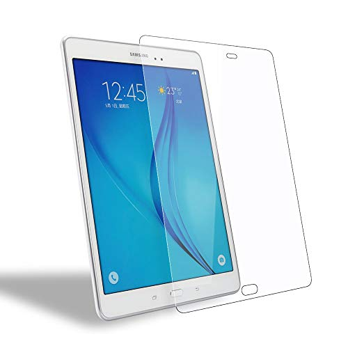 WEOFUN Samsung Galaxy Tab A 9.7 Screen Protector[2 pack], Premium Tempered Glass Screen Protector for Samsung Galaxy Tab A 9.7 T550 T555 Glass 2015 [2.5D Round Edge, 0.33mm]