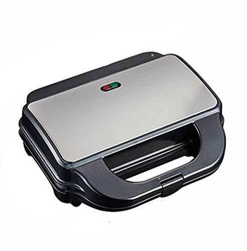 YFGQBCP Máquina Sandwich, Bandeja de Horno 5Various sándwich de Desayuno Máquina de múltiples Funciones Completamente automática Galleta Mollete Pan Tostadora (Negro)