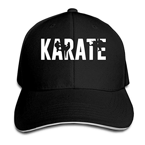 AORSTAR Vintage Cotton Basecap Snapback Caps Outdoor Baseball Kappe Mütze Karate Truckers Caps Baseball Cap Snapback Outdoor Breathable Sports Sun Hat