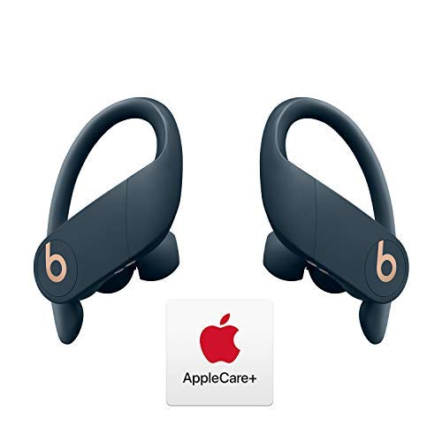 Powerbeats Pro Totally Wireless Earphones - Apple H1 Chip - Navy with AppleCare+ Bundle
