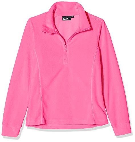 CMP Mädchen Fleeceshirt, Pink Fluo, 164, 3G28235