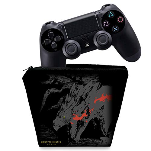 Capa PS4 Controle Case - Monster Hunter Edition