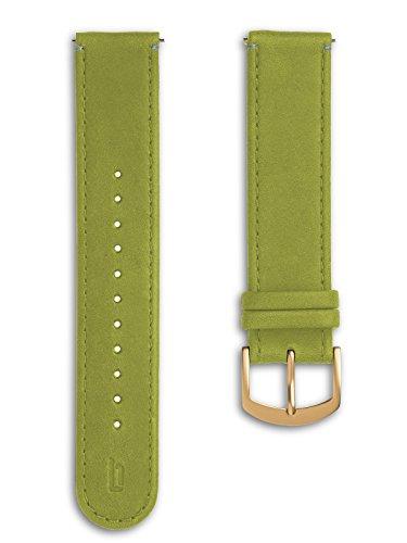 Lilienthal Berlin - Made in Germany – Wechselarmband, vegetabil gegerbtes Leder L1 (Farbe: greenery