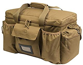 Departed Military Tactical Large Duffel Duffle, Shoulder Strap Travel Bag, Tactical Assault Military Molle Gear (Tan)