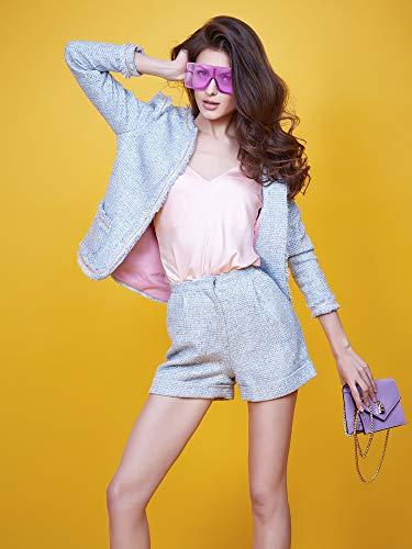 3 Piece Oversized Square Sunglasses Flat Top Fashion Shades Oversize Sunglasses
