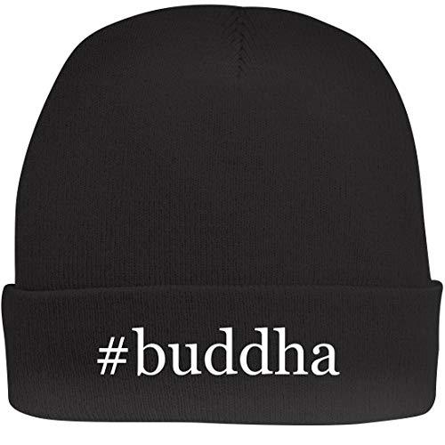 Shirt Me Up #Buddha - A Nice Hashtag Beanie Cap, Black, OSFA