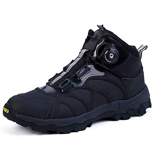 Hombres militar selva botas, botas de Reacción Rápida de excursión el zapato, zapatos transpirables de combate, Escalada seguridad al aire libre zapatos, Sistema BOA