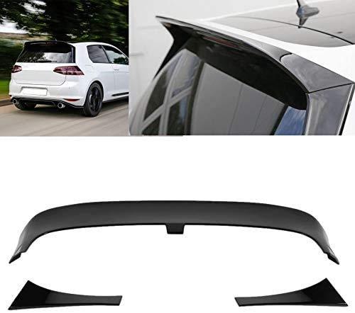XBXDM Glanz Schwarz Clubsport Stil Hinten Dach Spoiler Für Volkswagen Golf 7/7,5 GTI R 2013-2020