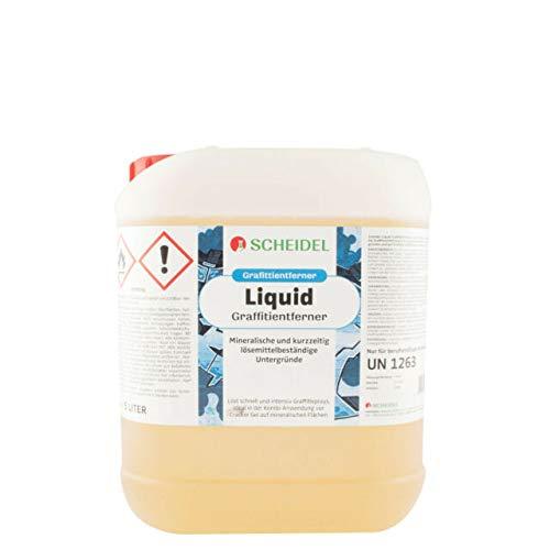 Scheidel Liquid Graffiti Entferner 5 Liter Flasche
