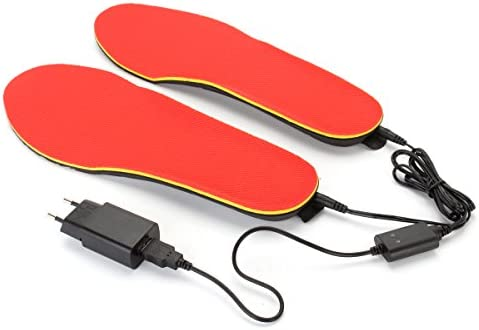 CoCocina 3.7V Max 53% OFF 1200mAh Electric Sale item Heated Foot Insoles Warmer H Shoe