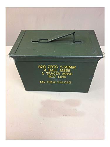 USGI Military Fat 50 Cal PA108 Saw Box Ammo Can 5.56 .223...