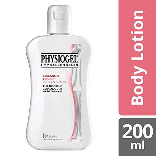 PHYSIOGEL Calming Relief A.I. Body Lotion, hypoallergen - Lindert sofort trockene, juckende Haut, 200 ml