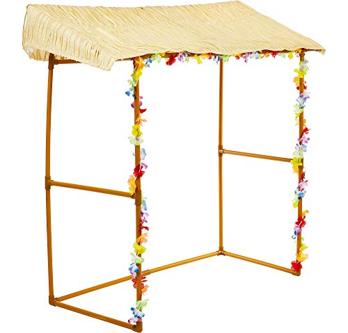 amscan 241205 Hawaiian Party Customizable Tiki Hut Bar-1 Pc