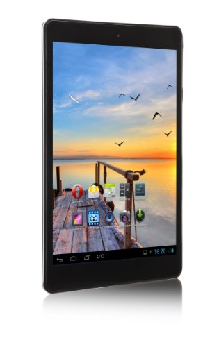'MPMAN MPQC784 IPS/4 GB Tablet Touchscreen 7,85 (19,94 cm) Cortex Allwinner A31S 1 GHz 4 GB Android Jelly Bean 4.2.2 WLAN schwarz/blau