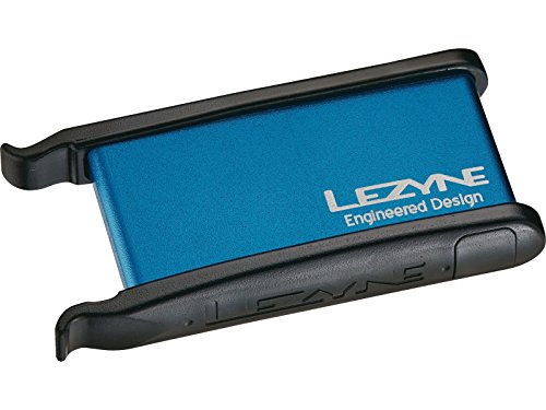 Lezyne Werkzeug Reparaturset Lever, Alu.inkl. 2, Blau-Glänzend, 1-PK-LEVER-V110