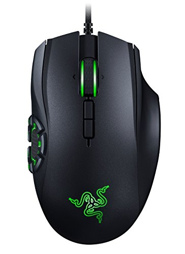 RAZER NAGA HEX V2: 7 Button Thumb Grid - 16,000 Adjustable DPI - New Ergonomic Form...