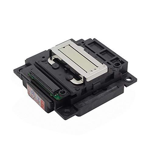 Spachy - Cabezal de impresión para Epson L300 L375 L358 L365 L550 L551 L350 L353 L360 L381 L385 XP300 XP400 XP415 PX405 PX435 L301 L303 L351 L353 L551 L310 L358 ME303, No cero., Negro , Tamaño libre