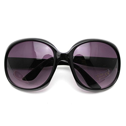 WElinks Fashion Women's Sunglasses Retro Vintage Big Frame Goggles Shades Eyeglass Black - http://coolthings.us