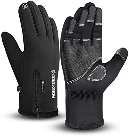 Waterproof Gloves Winter Warm Touchscreen Gloves for Men Cycling Running Climbing Walking Commuting product image