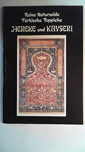 Reine Naturseide, türkische Teppiche, Hereke und Kayseri.