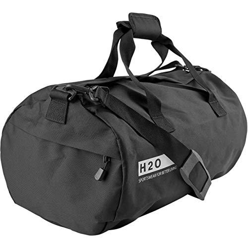 H2O Unisex Sporttasche Langeland Sports Bag M schwarz - M
