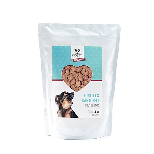 DOGS-Heart Forelle&Kartoffel 1,5kg - Getreidefreies Hundefutter mit viel Fleisch