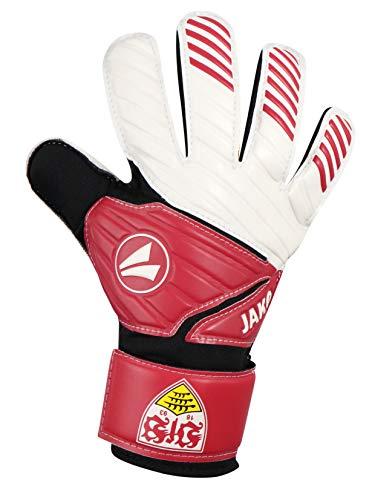 JAKO VfB Stuttgart Torwart-Handschuhe, rot/Weiß, 8
