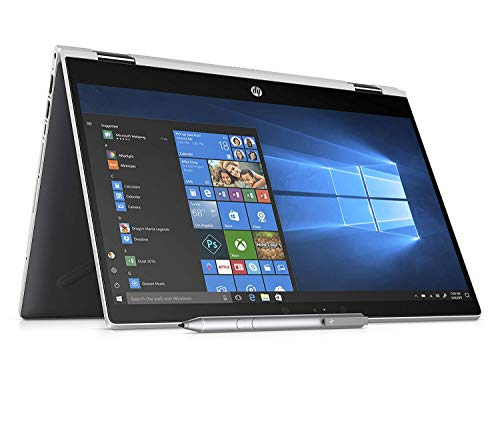 HP - PC Pavilion x360 14-CD0015NL PC Convertibile, Intel Pentium Gold 4415U, 8 GB di RAM, 128 GB SSD, Audio B&O PLAY, Argento Naturale